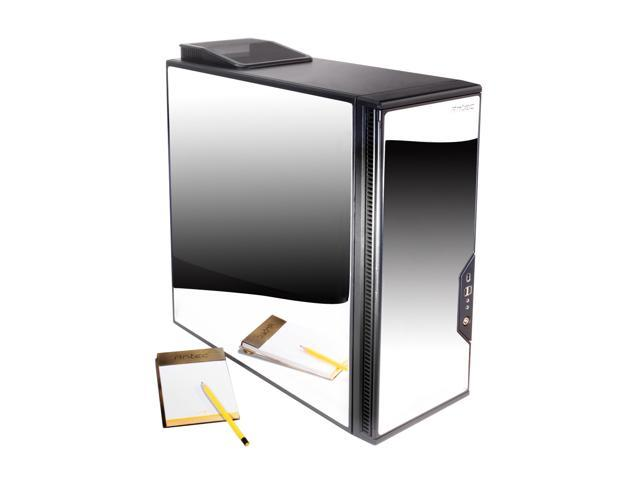 Antec P182SE Silver Mirror-finished stainless steel ATX Mid Tower Computer Case