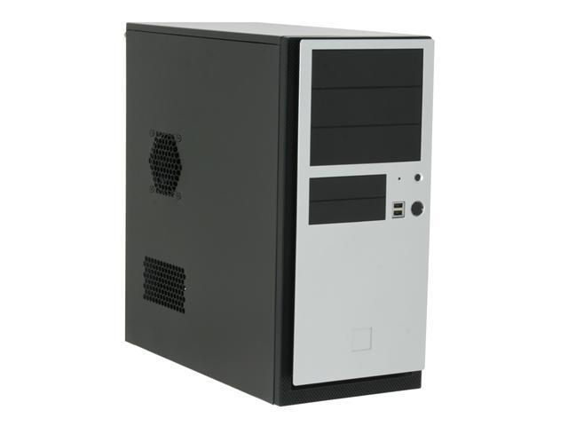 Antec NSK4480 Black/ Silver 0.8mm cold-rolled steel construction ATX Mid Tower Computer Case 380W Power Supply