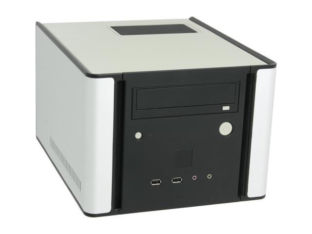 Antec NSK1380 Black/ Silver Steel MicroATX Cube Computer Case 350W Power Supply