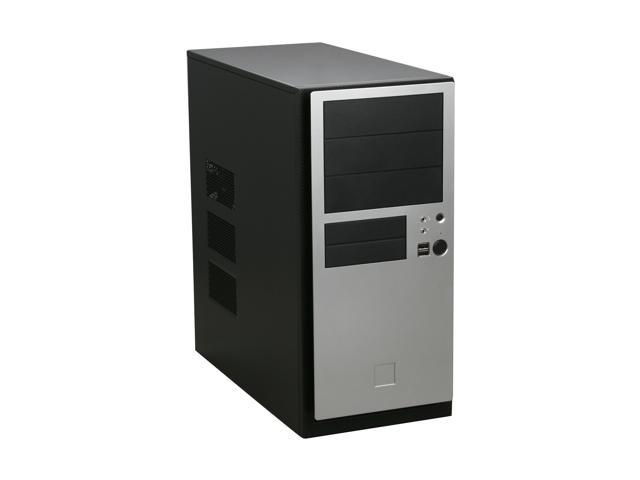 Antec NSK 4482 Black / Silver 0.8mm cold rolled steel ATX Mid Tower Computer Case 380W Power Supply