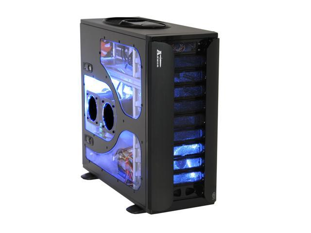 Thermaltake Armor Extreme Edition VA8004BWS Black 1.0mm SECC Chassis/ Aluminum  Front Bezel ATX Full Tower Computer Case