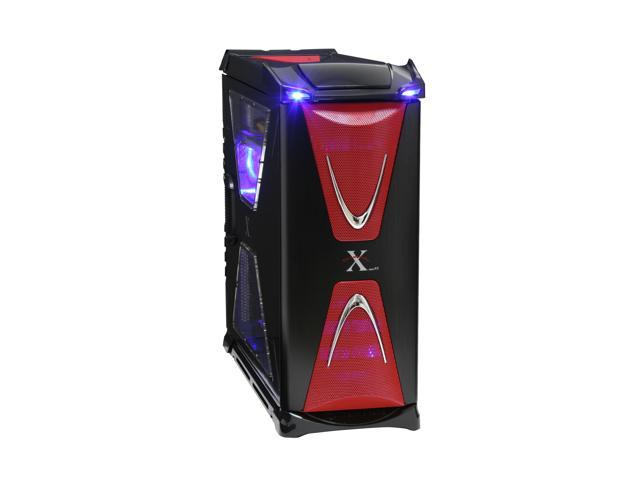 Thermaltake Xaser VI VG4000BWS Black /  Red Aluminum / Steel ATX Full Tower Computer Case