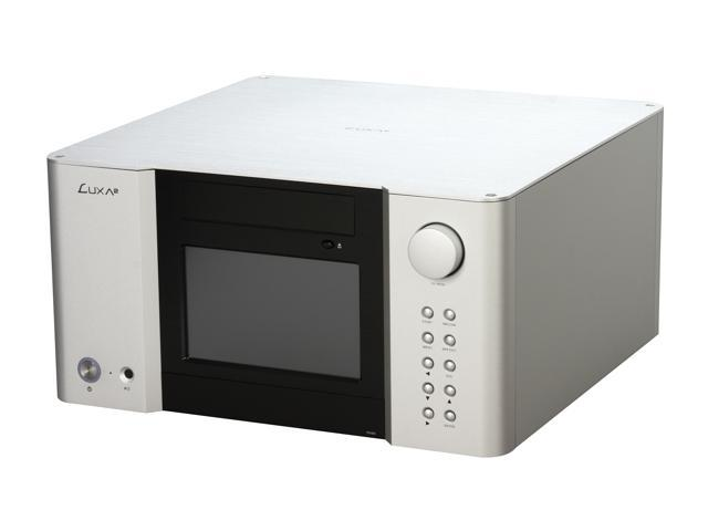 LUXA2 Black/Silver Aluminum LM200 Touch Micro ATX Media Center / HTPC Case