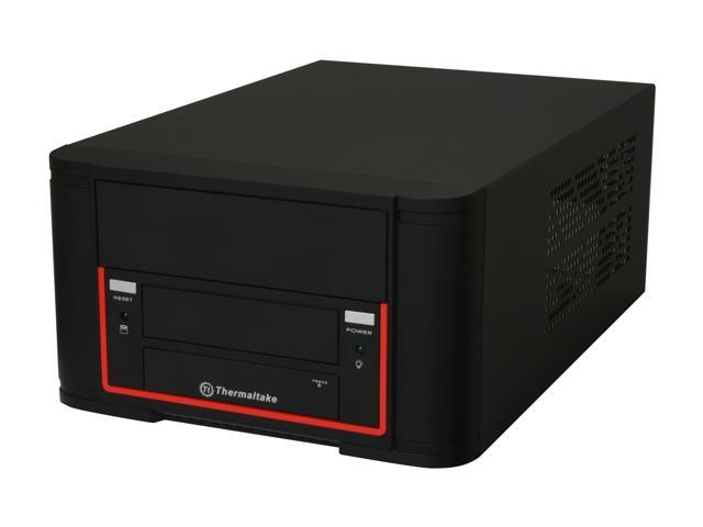 Thermaltake Element Q VL52021N2U Black SGCC / Plastic Mini-ITX Desktop Computer Case 200W SFX Power Supply