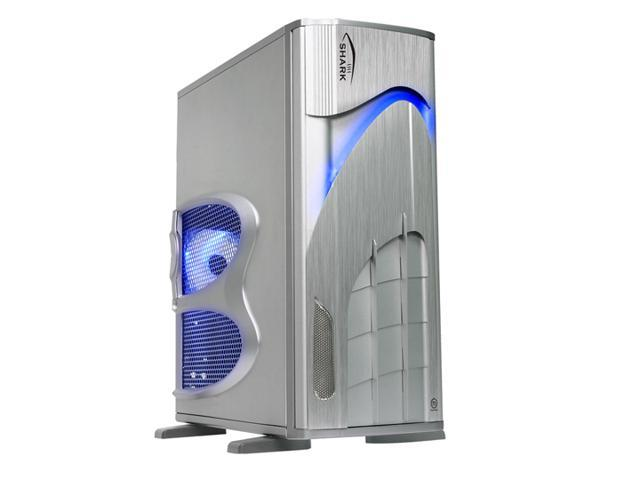 Thermaltake SHARK VA7000SWA Silver 1.0 mm All aluminum ATX Full Tower Computer Case