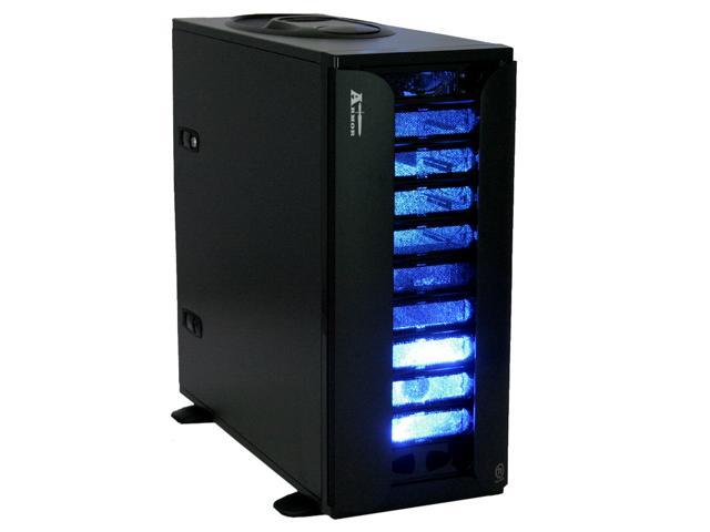 Thermaltake Armor VA8000BNS Black Chassis: 1.0mm SECC, Front Bezel: Aluminum ATX Full Tower Computer Case