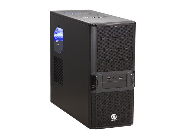 Thermaltake VL84301W2Z V3 Black Edition with 430W  Power Supply ATX Mid Tower Computer Case