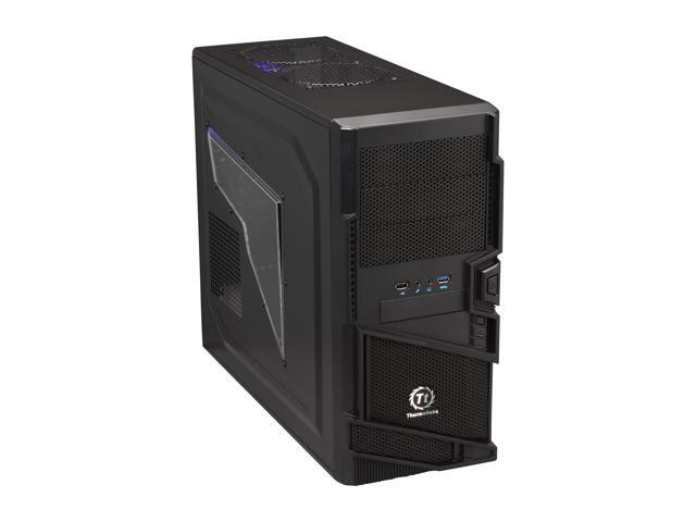 Thermaltake Commander MS-I ID VN400A1W2N Black SECC ATX Mid Tower Computer Case