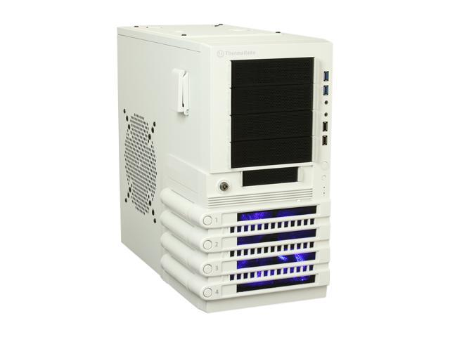 Thermaltake Level 10 Series Level 10 GTS Snow Edition White SECC ATX Mid Tower Computer Case