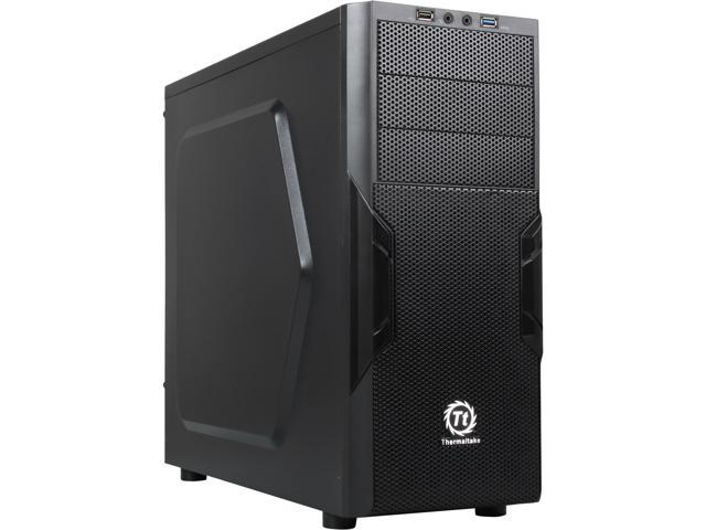 Thermaltake CA-1B3-00M1NN-00 Black SPCC ATX Mid Tower Computer Case