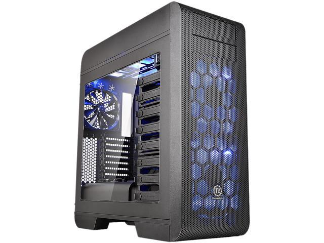 Thermaltake Core V71 Power Cover Edition Black E-ATX Full Tower Tt LCS Certified Gaming Computer Case CA-1B6-00F1WN-03