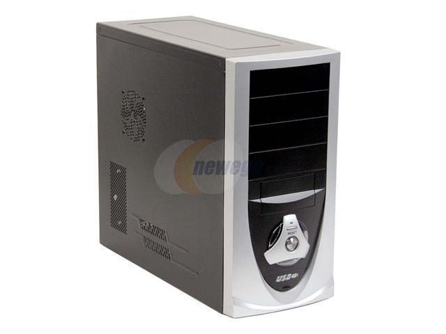 DYNAPOWER USA BIEN C2214.66.0757 Black/Silver Computer Case