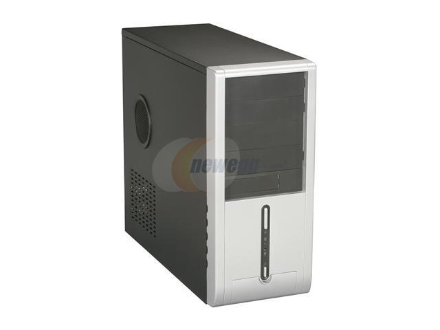 DYNAPOWER USA EN-4102 Black / Silver Computer Case - OEM