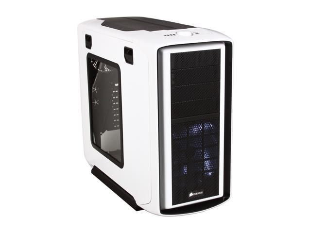 Corsair Graphite Series 600T Arctic White Steel / Plastic ATX Mid Tower Computer Case