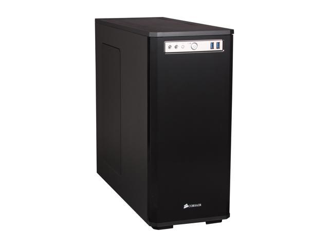 Corsair Obsidian Series 550D Black Aluminum / Steel ATX Mid Tower Computer Case