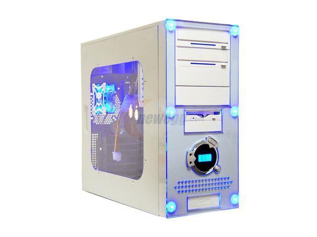APEVIA X-Dreamer II ATXB4KLW Beige Steel ATX Mid Tower Computer Case ATX 420W power supply for AMD/Intel Power Supply