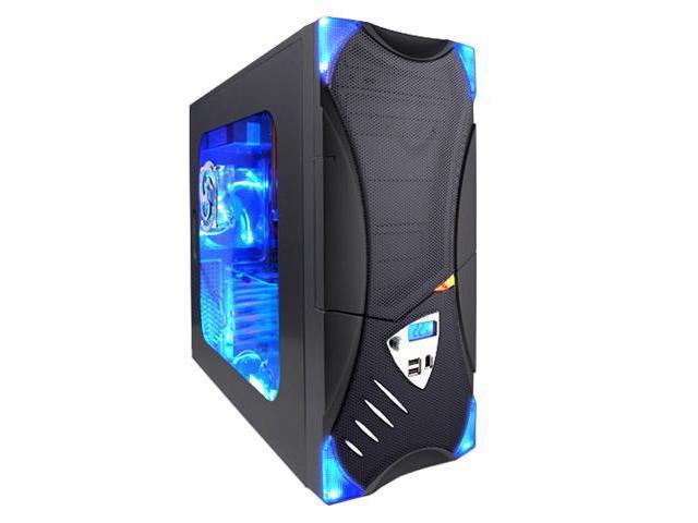 APEVIA X-Plorer ATXB8KLW-BK/420 Black Computer Case