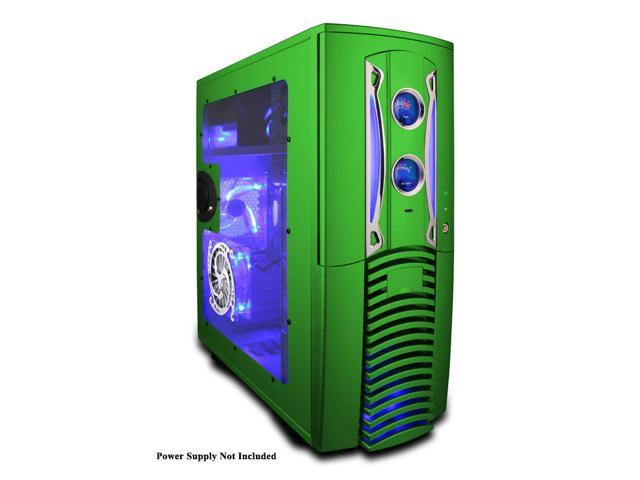 APEVIA X-PLEASURE-GN Green Computer Case