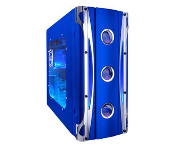 APEVIA X-CRUISER-BL Blue Steel ATX Mid Tower Computer Case