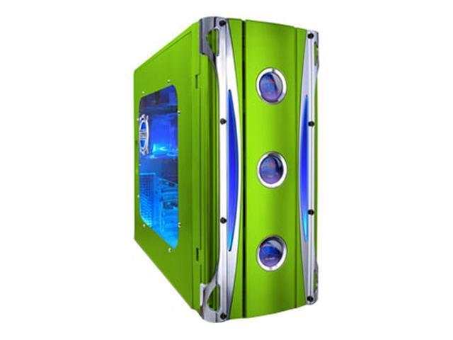 APEVIA X-CRUISER-GN Green Computer Case
