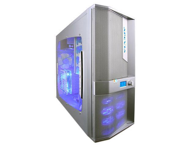 APEVIA X-JUPITER-JR G-Type X-JPJGT-AL Silver SECC Steel ATX Mid Tower Computer Case