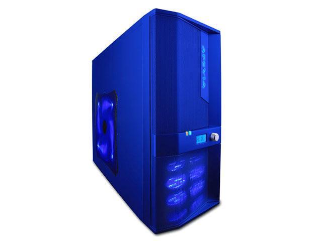 APEVIA X-JUPITER-JR S-Type X-JPJST-BL Blue SECC Steel ATX Mid Tower Computer Case