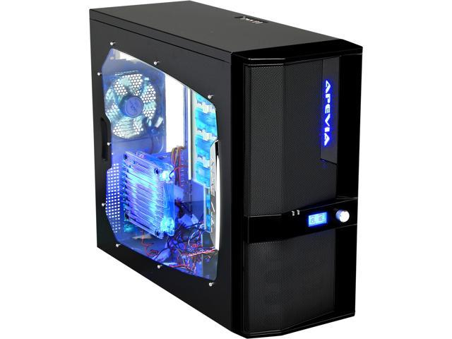 APEVIA X-JUPITER-JR G-Type X-JPJGT-BK Black SECC Steel ATX Mid Tower Computer Case