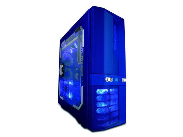 APEVIA X-JUPITER G-Type X-JUPITERG-BL Blue Aluminum ATX ...