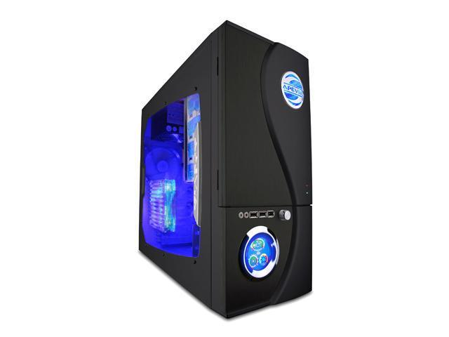 APEVIA X-TELSTAR-JR G-Type X-TSJGT-BK Black SECC Steel ATX Mid Tower Computer Case