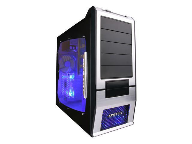 APEVIA X-SUPRA G-Type X-SUPRAG-AL Black / Silver Computer Case