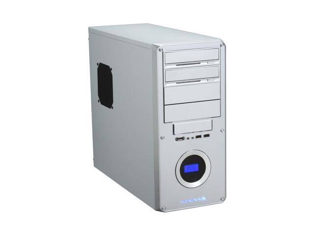 APEVIA X-DREAMER3 X-DMR3-NW-AL/450 Silver Metal ATX Mid Tower Computer Case 450W Power Supply