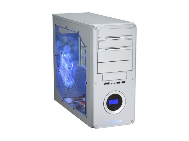 APEVIA X-DREAMER3-AL Silver Metal ATX Mid Tower Computer Case