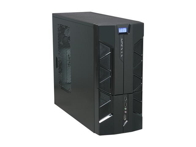 APEVIA X-PLORER2 Series X-PLOR2-NW-BK/450 Black Steel ATX Mid Tower Computer Case 450W Power Supply