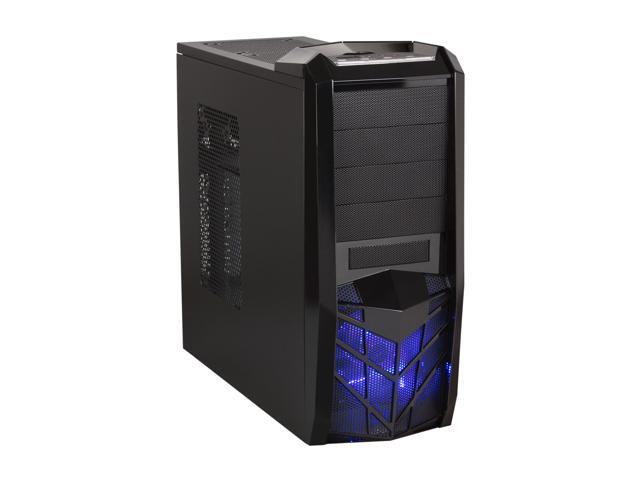 APEVIA X-TROOPER Series X-TRP-NW-BK/450 Black Steel ATX Mid Tower Computer Case 450W Power Supply
