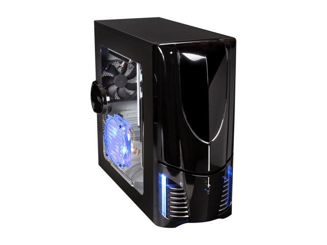 NZXT Apollo Black SECC Steel Chassis ATX Mid Tower Computer Case