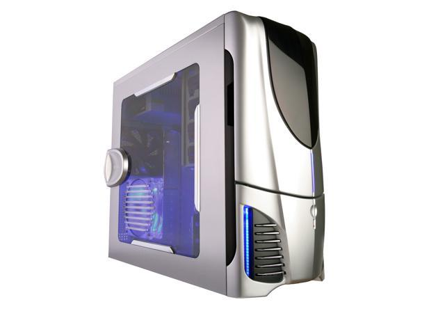 NZXT Apollo SILVER NP Silver SECC Steel Chassis ATX Mid Tower Computer Case