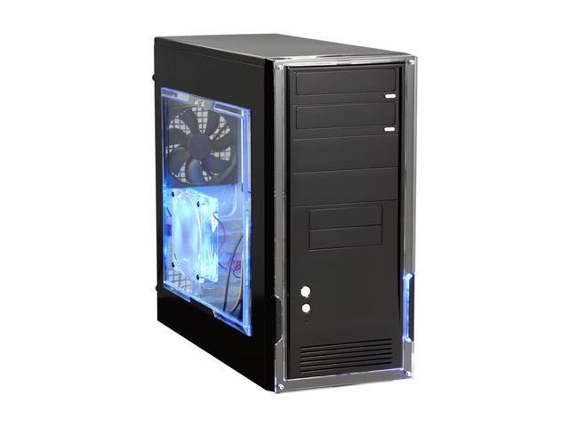 NZXT Alpha Black Steel ATX Mid Tower Computer Case with Open Window