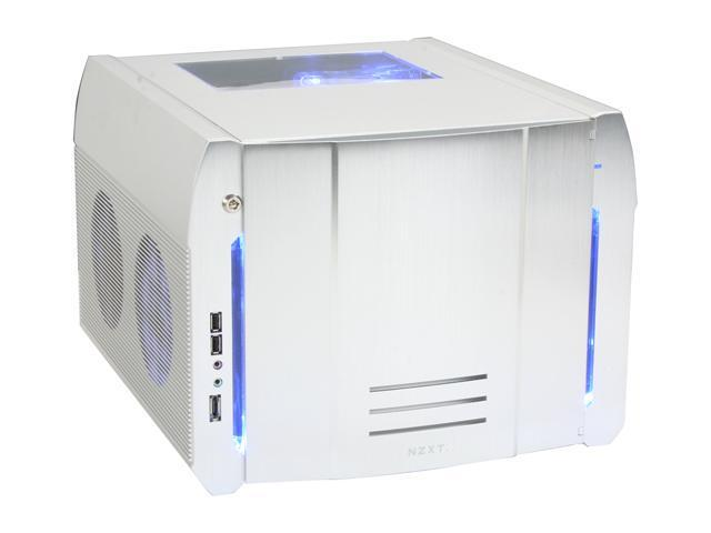 NZXT ROGUE Crafted Series SILVER ROGUE w. BLUE LED Silver Computer Case