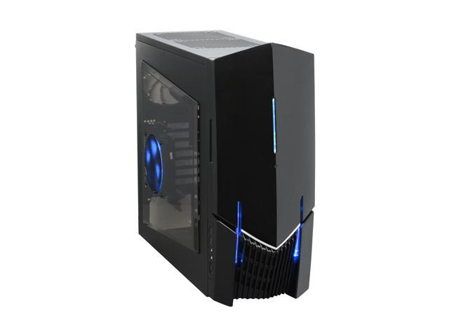 NZXT LEXA S LEXS - 001BK Black Steel ATX Mid Tower Computer Case