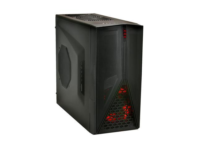 NZXT Hades Crafted Series HADE-001BK Black Steel / Plastic ATX Mid Tower Computer Case