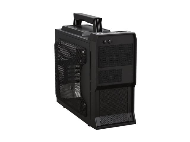 NZXT Crafted Series Vulcan Black Steel / Plastic Gaming mATX Computer Case