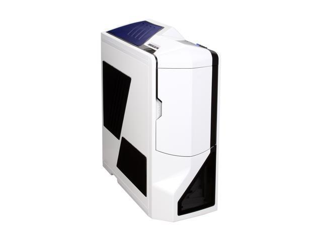 NZXT Phantom PHAN-001WT White Steel / Plastic Enthusiast ATX Full Tower  Computer Case