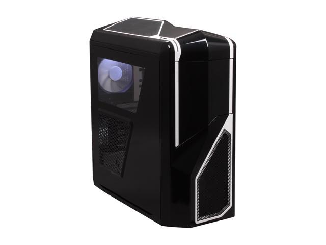 NZXT Phantom 410 CA-PH410-B2 Black Steel / Plastic ATX Mid Tower White Trim Computer Case