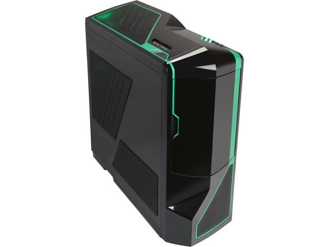 NZXT Phantom RB-PHAN-002GR Black/Green Computer Case