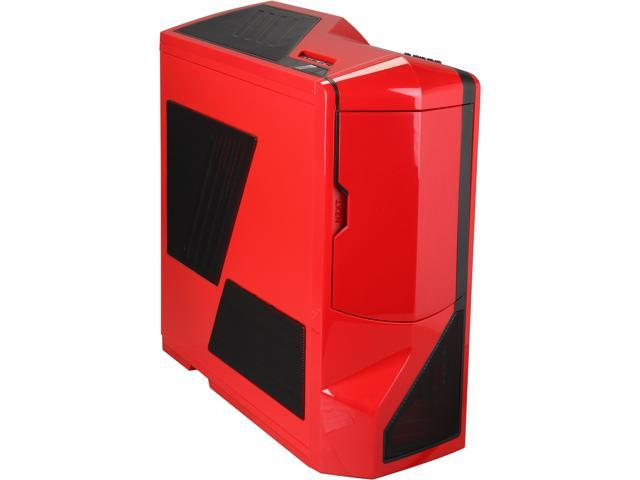 NZXT Phantom RB-PHAN-001RD Red Steel / Plastic ATX Full Tower Computer Case