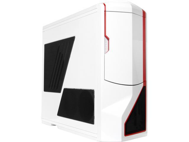 NZXT Phantom RB-PHAN-003RD* White/Red Steel / Plastic ATX Full Tower Computer Case