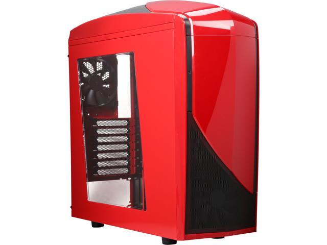 NZXT Phantom 240 CA-PH240-R1 Black / Red ATX Mid Tower Computer Case