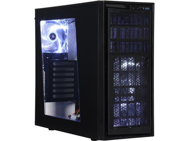 NZXT RB-CA-SO220w-B1 Black Steel / Plastic ATX Mid Tower Computer Case