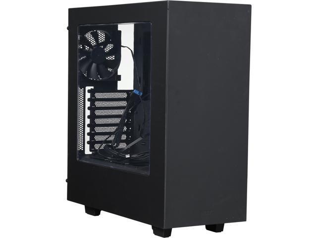 NZXT RB-CA-S340MB-GB Black/Blue Steel / Plastic Computer Case