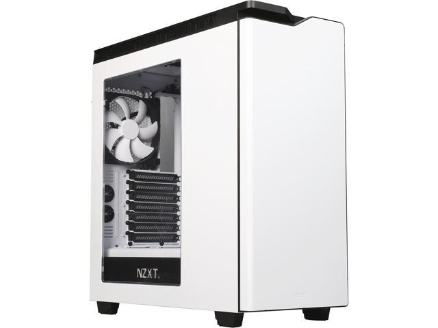 NZXT H440 Mid Tower Case (White/Black /w Window) (Certified Refurbished)